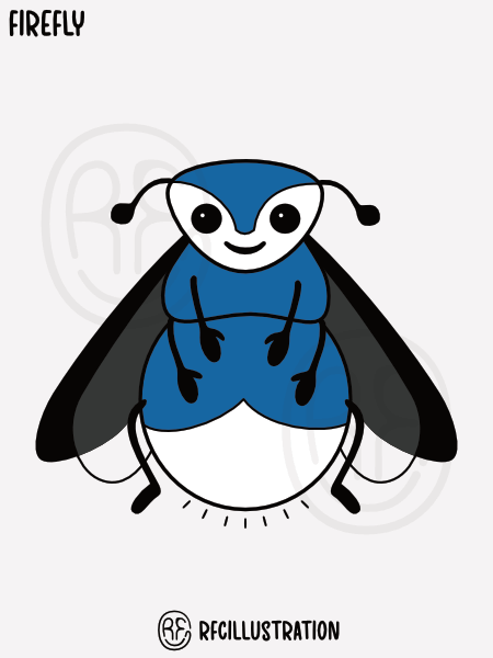 An illustration of a firefly.