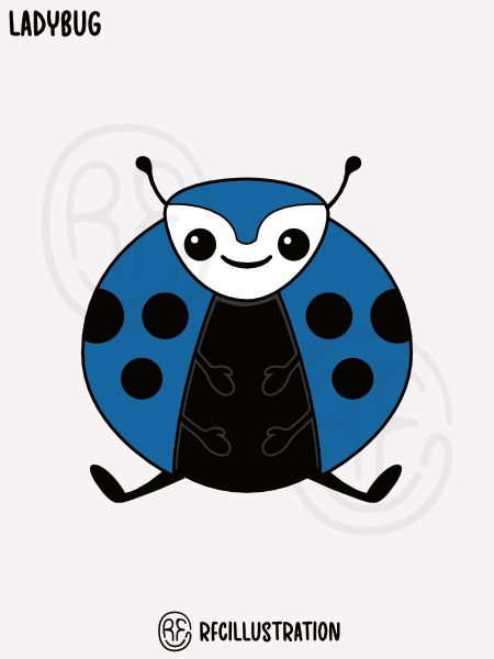 An illustration of a labybug.